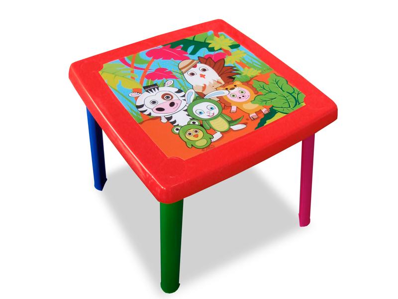 Mesa infantil fantasia pl sticos en general for Mesas infantiles de plastico